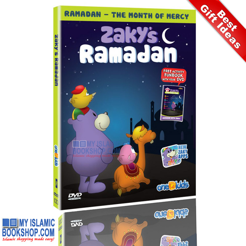Zaky's Ramadan – spend Ramadan with Zaky & Friends (DvD - with Free Activity book)