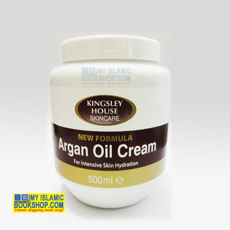 Kingsley House Argan Oil Cream - 500ml
