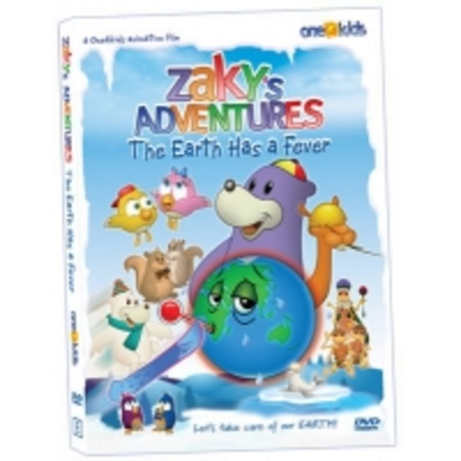 Zaky's Adventures, The Earth Has a Fever DVD