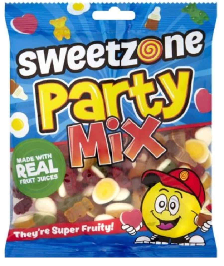 SweetZone 100% Halal Party Jelly Mix  Bag 180g