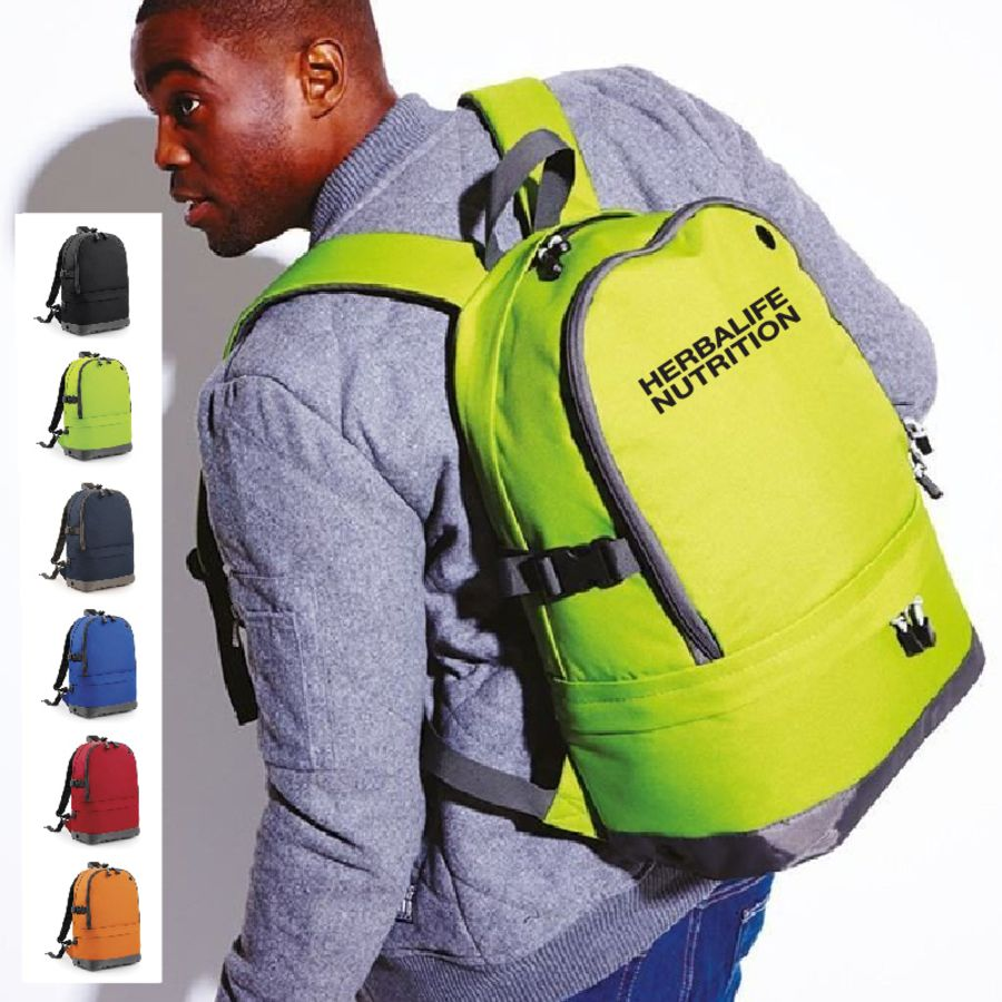 Dual Compartment Backpack