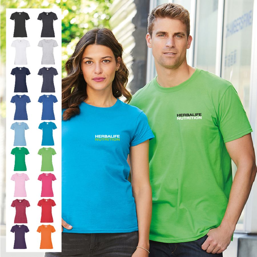Ladies/Mens/Child Midweight Cotton T-Shirt