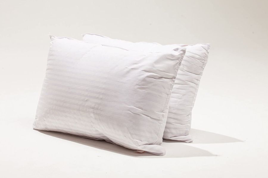 Hotel Stripe Standard Bed Pillow