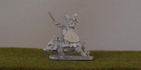 Mounted Dwarf Hero