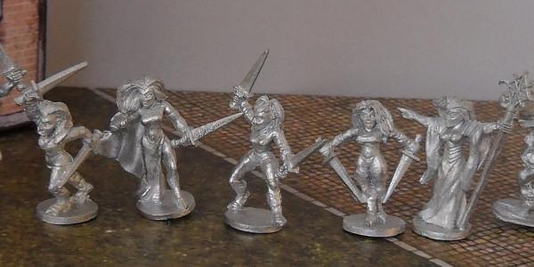 War Vixens Warband