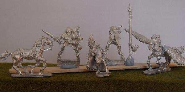 Wood Elf Heroes #1
