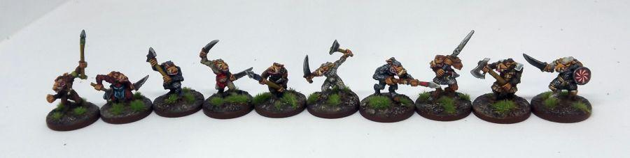 Beastmen Raiders Warband