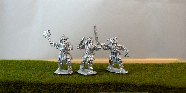 Armored Skeleton Axe/Swordsmen with Shields