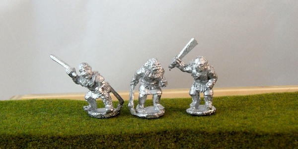 Orcs with Sword and Shield