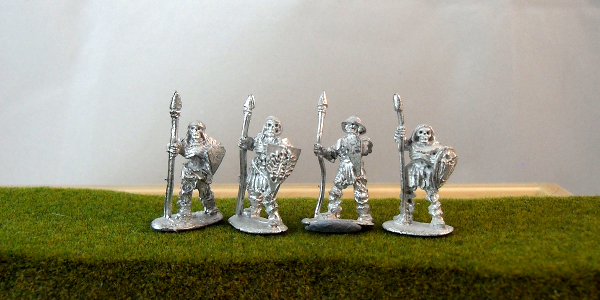 Skeleton Armoured Spearmen