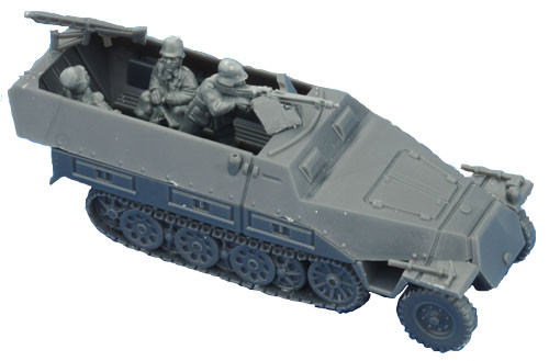 German SD KFZ 251 Halftrack