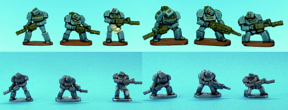 Blockhead Battlesuits