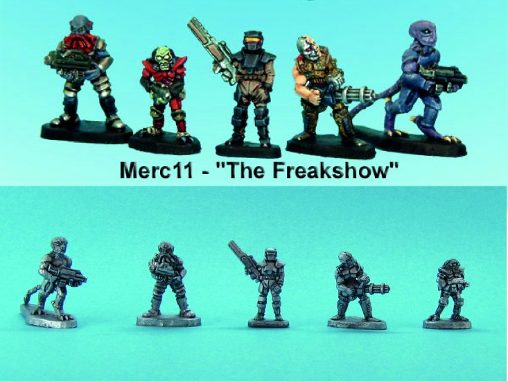 Mercenary Fighters #2 'The Freakshow'