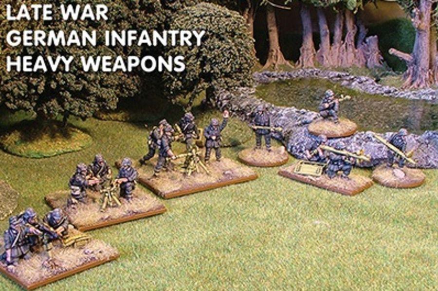 Late War German Heavy Weapons
