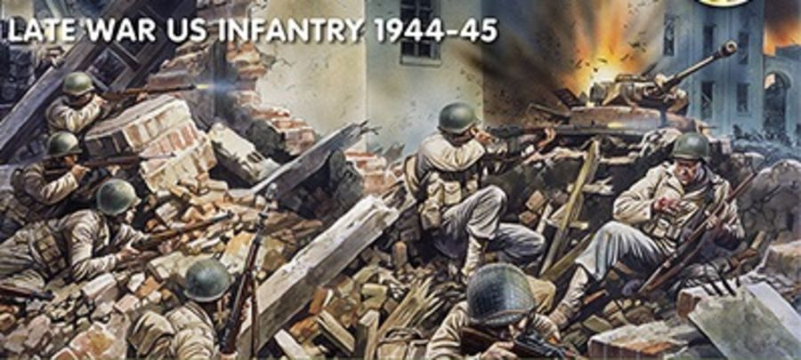 Late War US Infantry 1944-45
