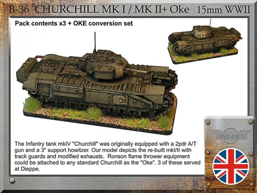 Churchill mkI/mkII +Oke