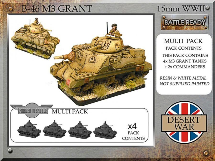 M3 Grant, desert