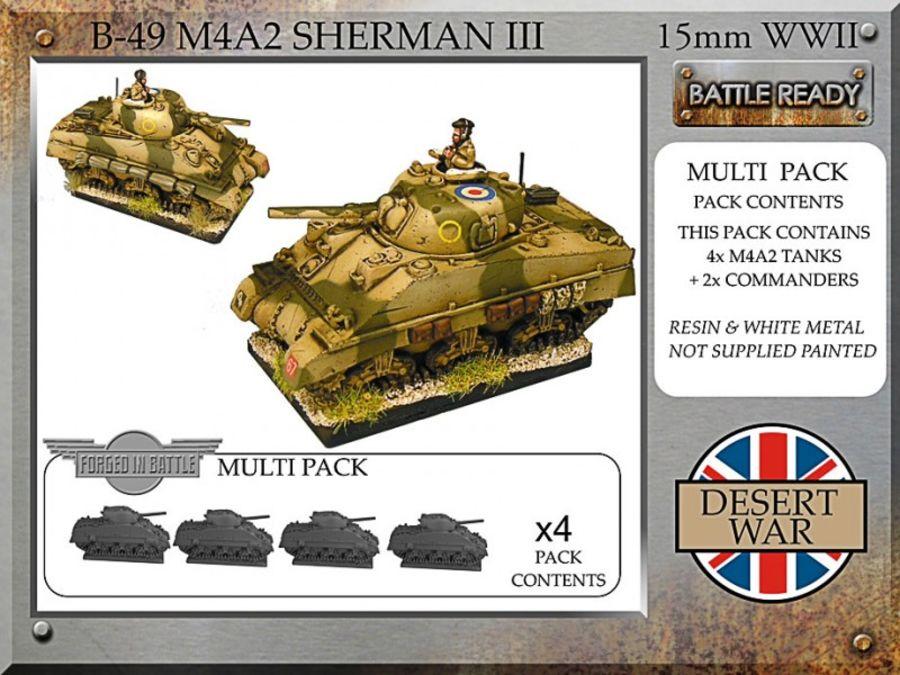 M4A2 Sherman III, desert