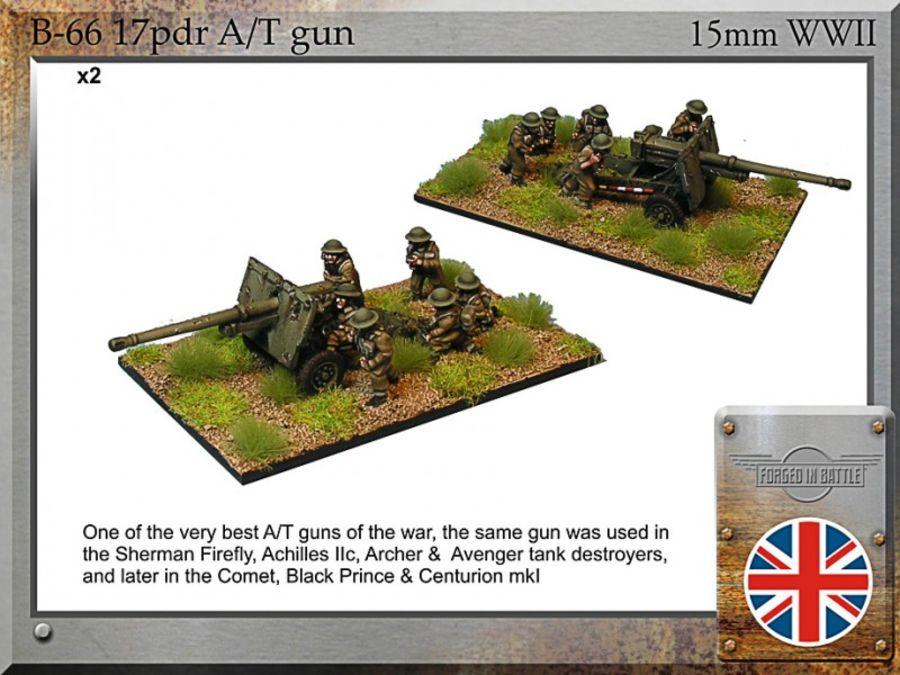 17pdr A/T gun