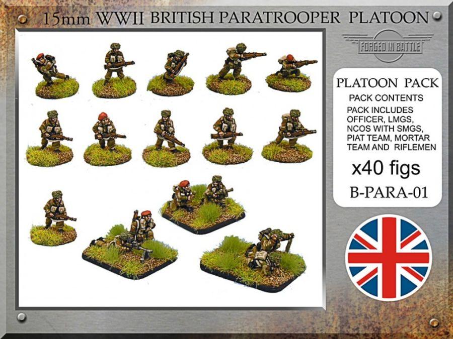 British Paratrooper Platoon