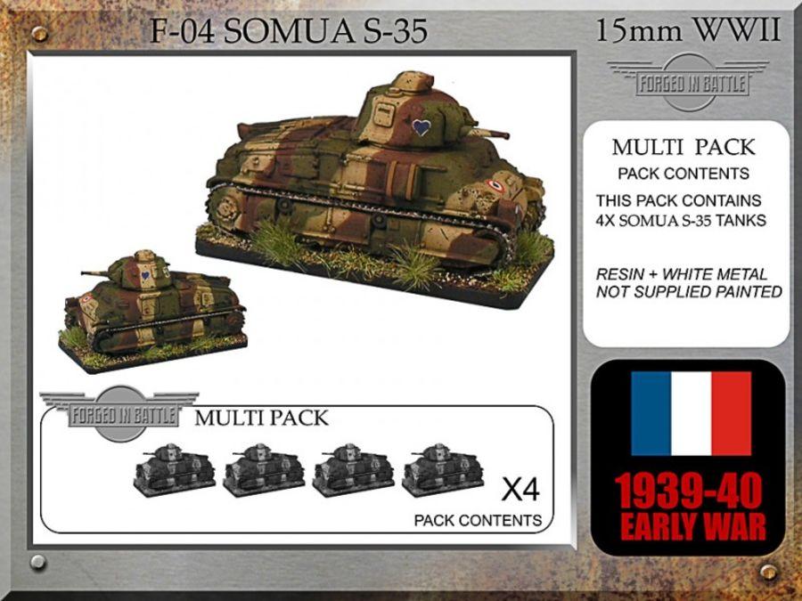 Somua S-35 x 4