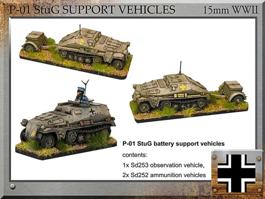 StuG Battery Support Vehicles