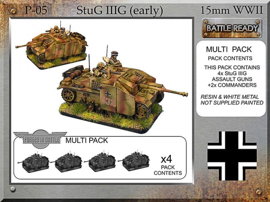 StuG IIIG x 4