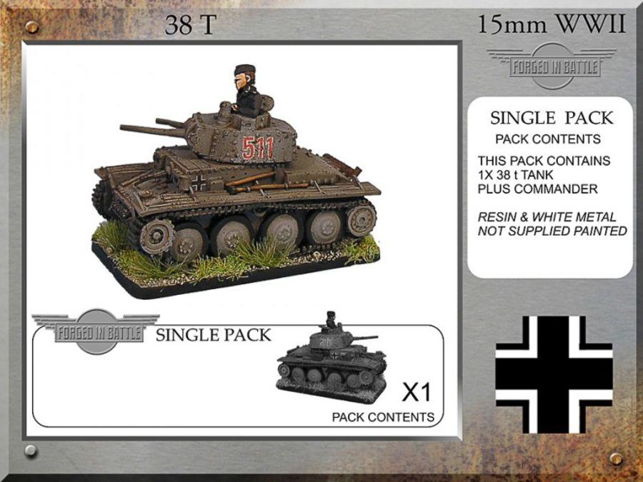 Pz38t x 1 Tanks