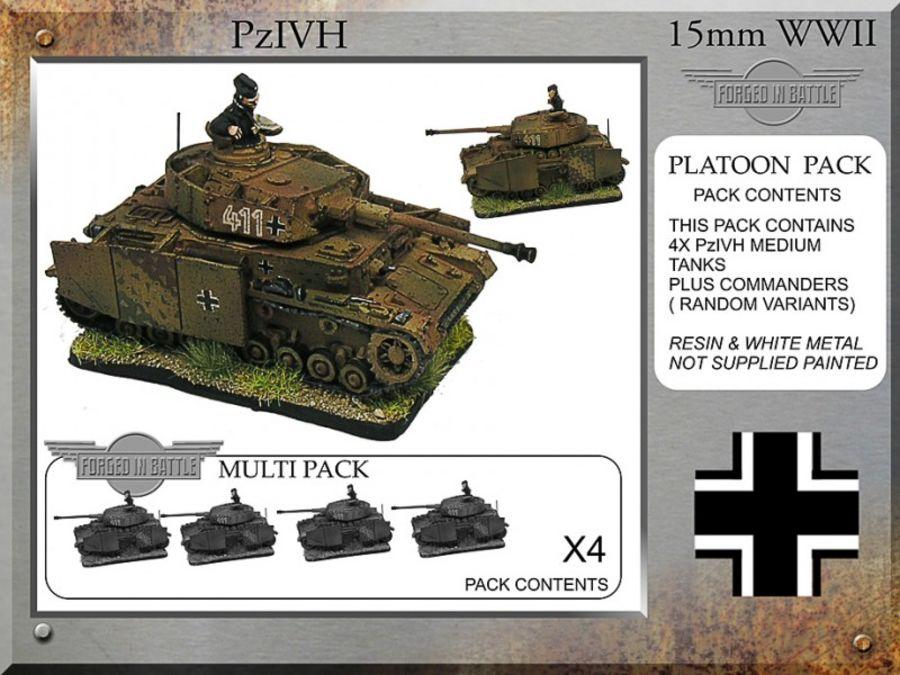 Pz IVH-G Platoon Tanks