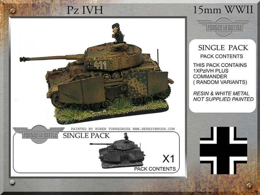 Pz IVH-G Tank