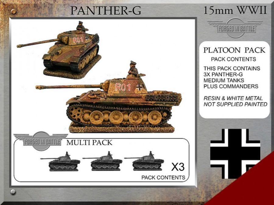 Panther G Platoon Tanks