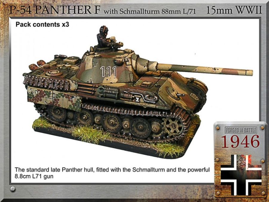 Panther F with Schmallturm