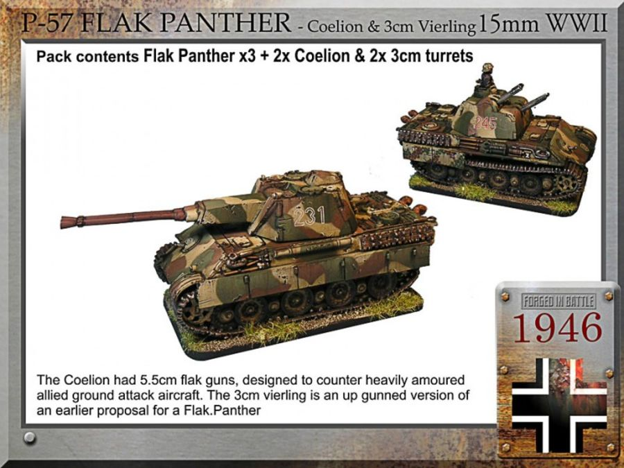 Flak Panther - Coelion & 3cm Vierling