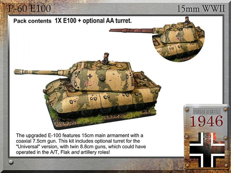 E-100 super tank, 15cm/7.5cm or UA-88