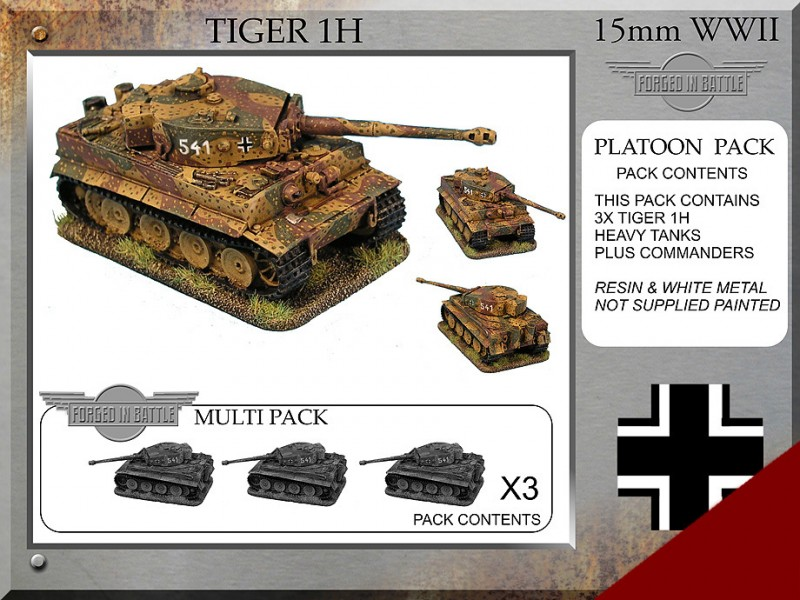 Tiger 1H Platoon Tanks