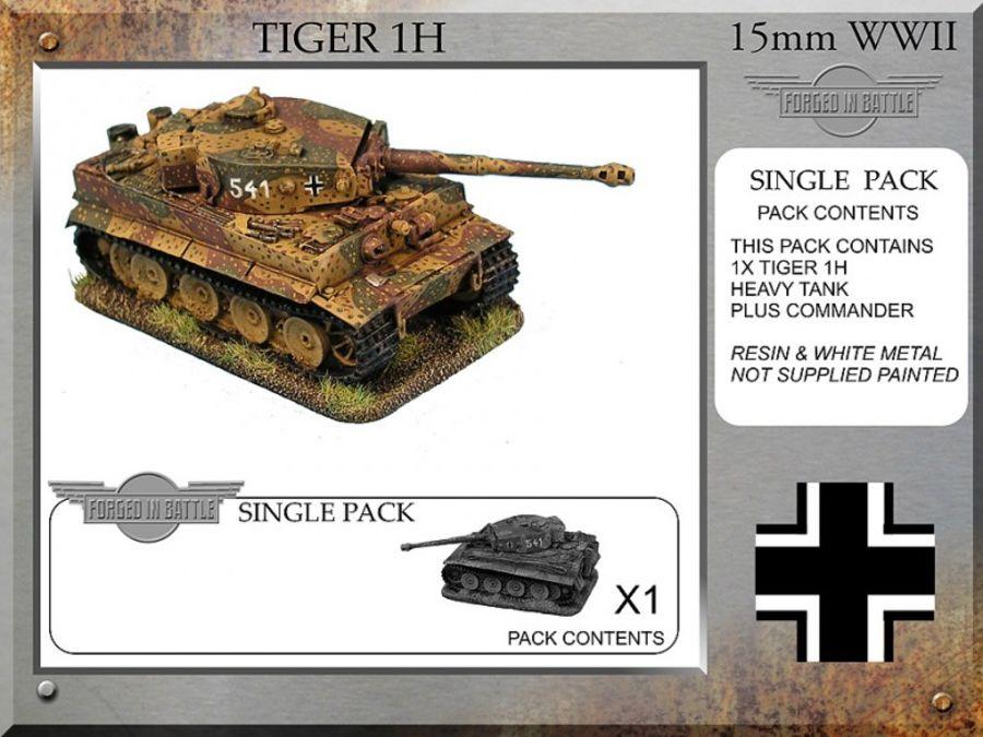 Tiger 1H Tank