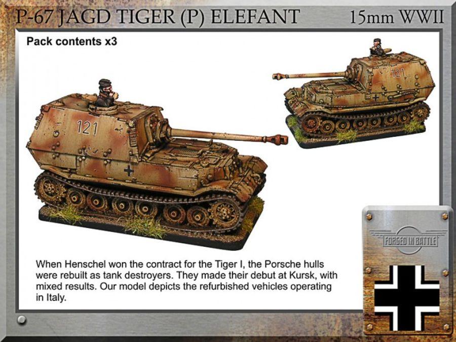 Jagd Tiger (P) Elefant