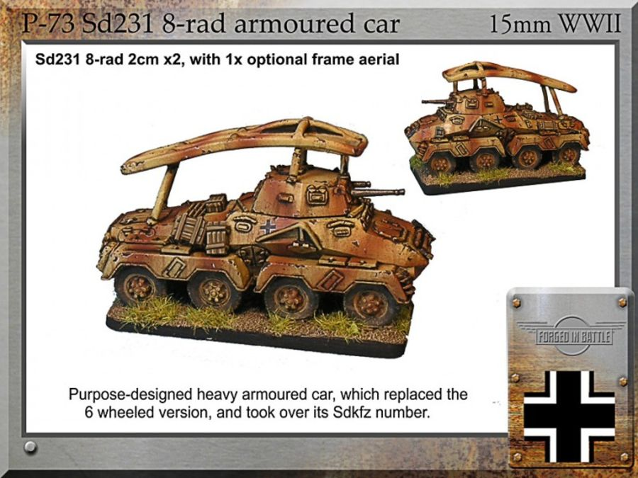 Sd231 8-rad armoured car