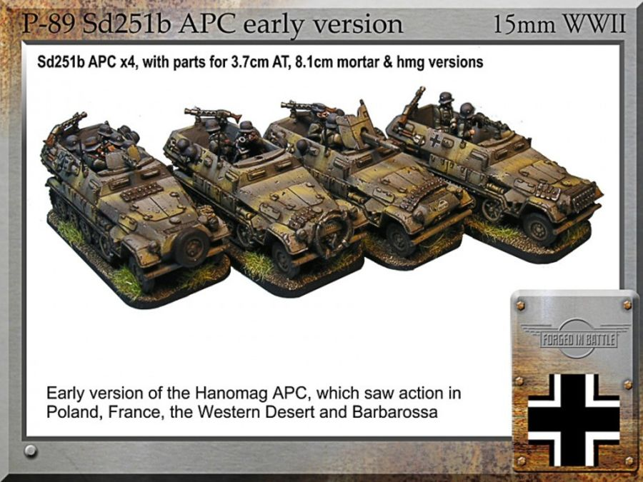 Sd251b Hanomag APC , early version