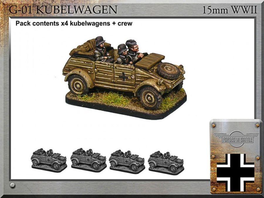 Kubelwagen x4