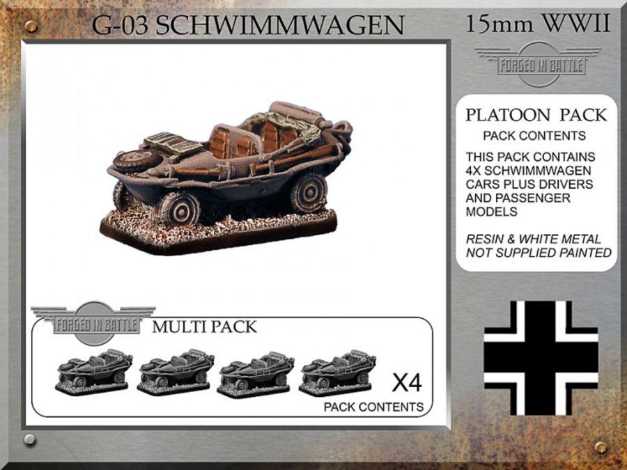 Schwimmwagen x4