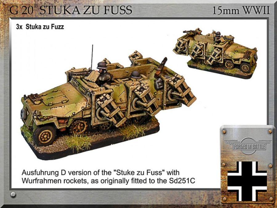 Sd251d Stuka zu Fuss