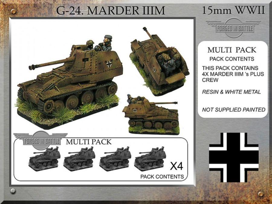 Marder IIIM x4