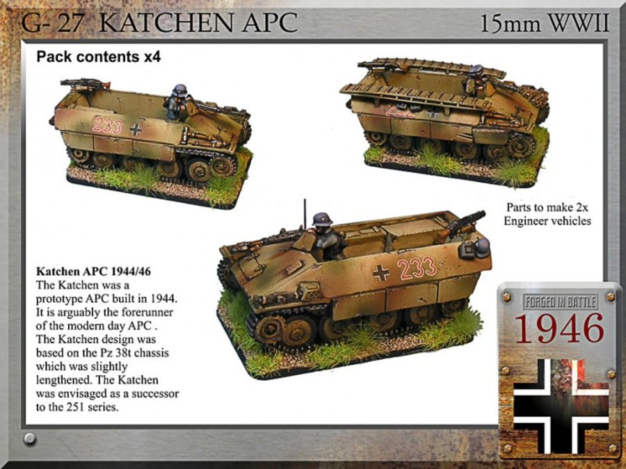 Katchen APC + Eng. Option