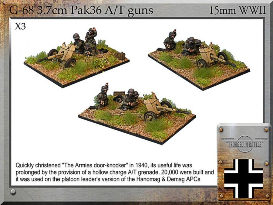 3.7cm Pak36 A/T gun
