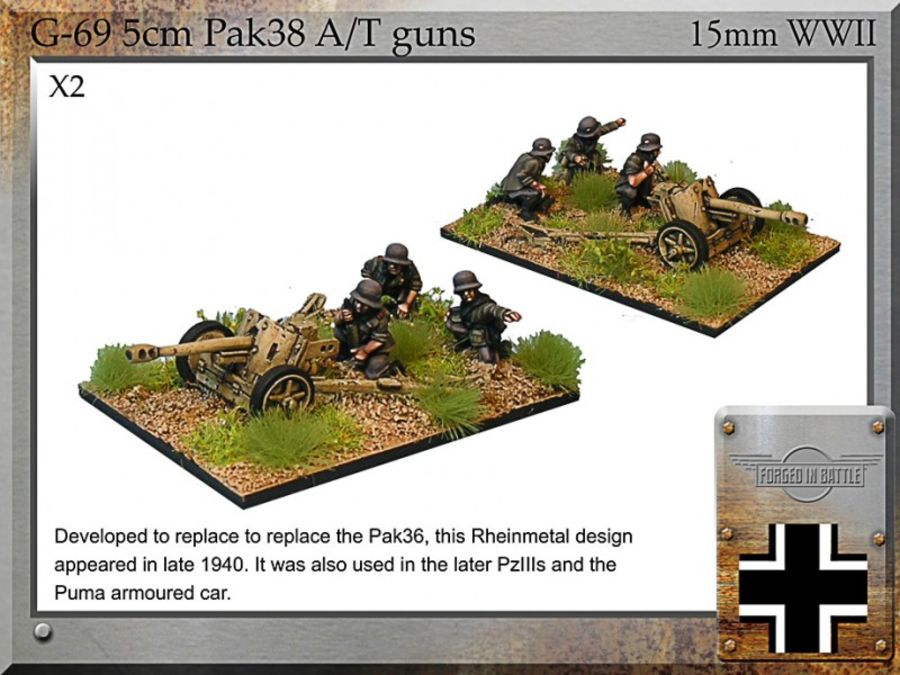 5cm Pak38 A/T gun