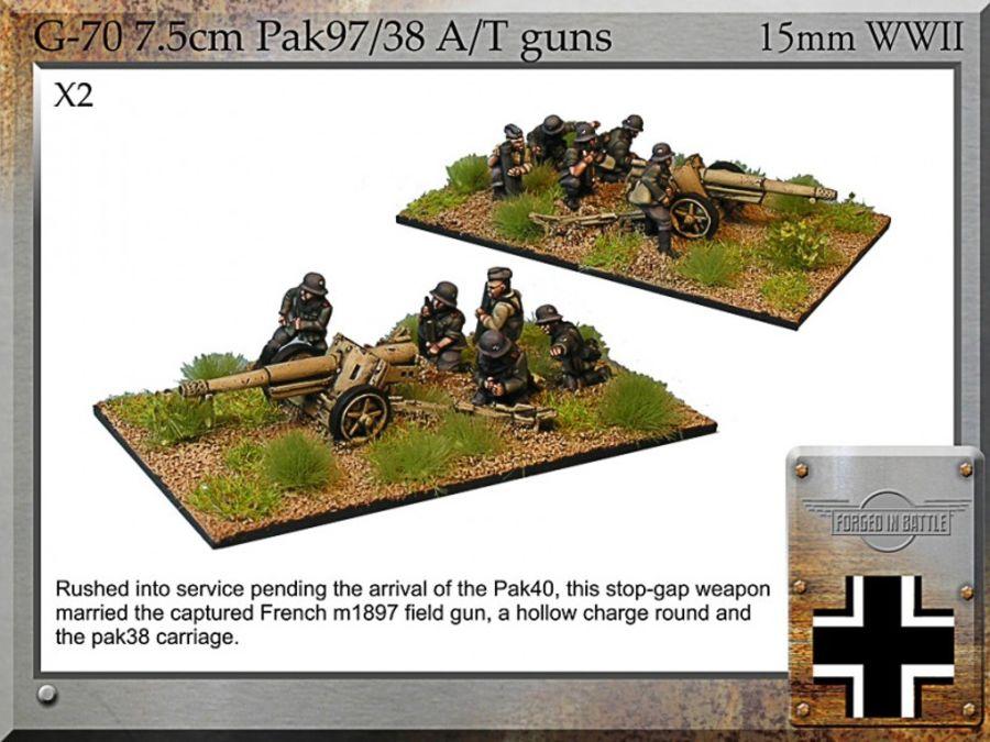 7.5cm Pak97/38 A/T gun