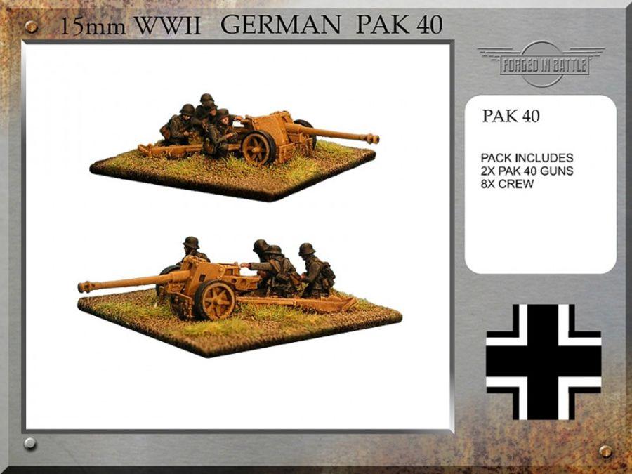 Pak 40 Guns