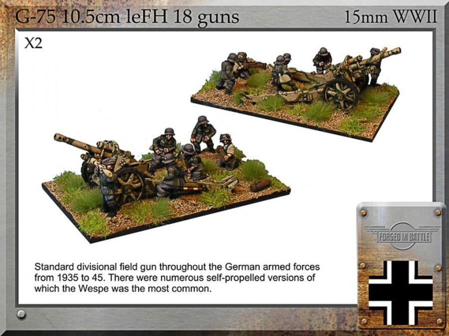 10.5cm leFH18 field gun