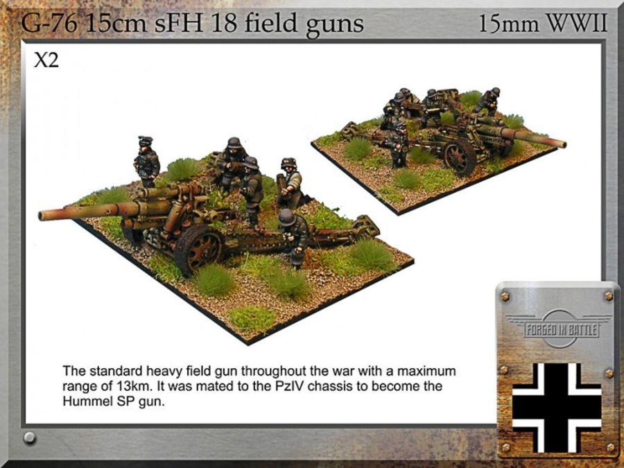 15cm sFH18 field gun